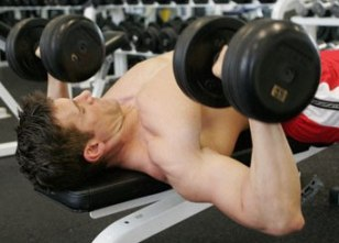 flat bench press