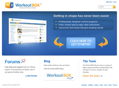 workout box review
