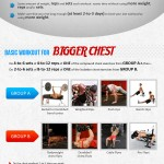 How to Get Bigger Chest (Infographic)
