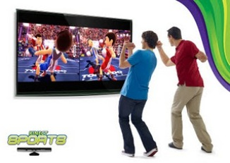 Kinect Sports software