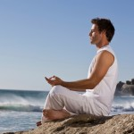 meditating while travelling