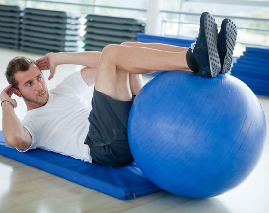 how to use stability ball