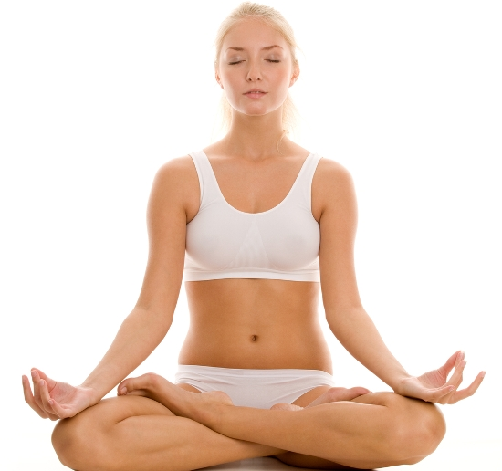 seated meditative pose