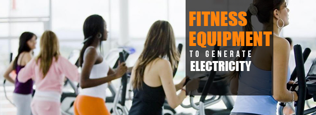 Fitness Equipment To Generate Electricity