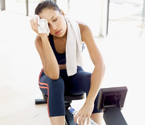 avoid heat stress while exercising